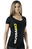 NutraBio V-Neck T-Shirt (Women)