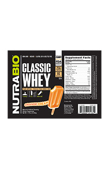 Classic Whey - To-Go Pack (Orange Dream)