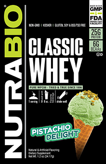 Classic Whey To-Go Pack (Pistachio Delight)