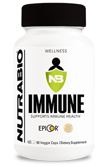 NutraBio Immune - 90 Vegetable Capsules