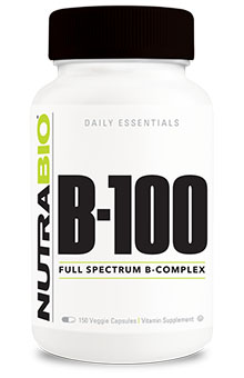 Vitamin B-100 Complex - 150 Vegetable Capsules