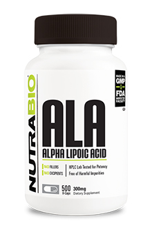 Alpha Lipoic Acid 300mg - 500 Vegetable Capsules