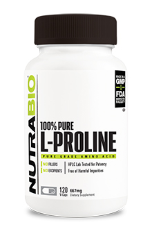Proline (667mg) - 120 Vegetable Capsules