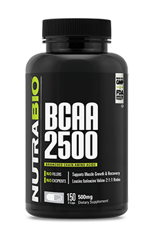 BCAA 2500 - 150 Vegetable Capsules