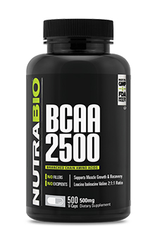 BCAA 2500 - 500 Vegetable Capsules