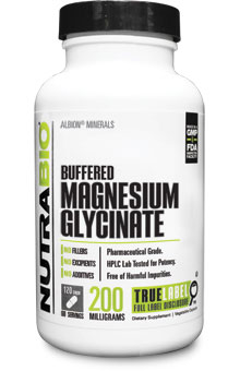 Buffered Magnesium Glycinate (100mg) - 120 Capsules