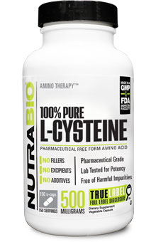 Cysteine (500 mg ) - 150 Vegetable Capsules