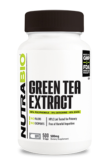 Green Tea Extract (500mg) - 500 Vegetable Capsules