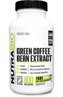 Green Coffee Bean Extract (800mg) - 90 Capsules