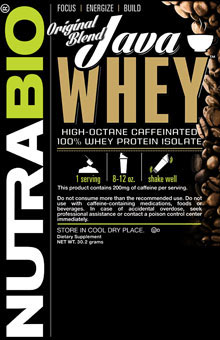 Java Whey - To-Go Pack