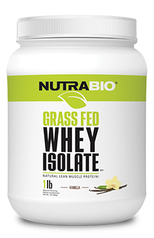 Grass-Fed Whey Protein Isolate - 1 lb
