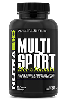MultiSport for Men - 120 Vegetable Capsules