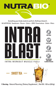 Intra Blast Natural - To-Go Pack (Sweet Tea)