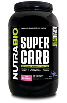 NutraBio Super Carb - 60 Servings