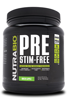 NutraBio PRE Workout Stimulant Free