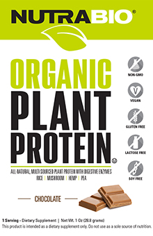 Organic Vegan Plant Protein - To-Go Pack (Chocolate)