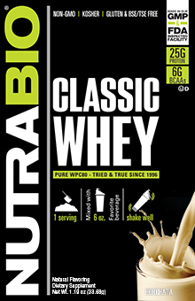 Classic Whey Protein - To-Go Pack (Horchata)