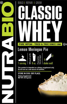 Classic Whey Protein - To-Go Pack (Lemon Meringue)