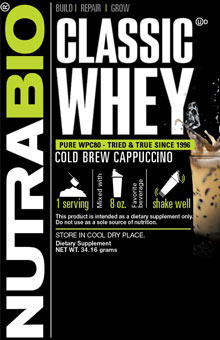 Classic Whey Protein - To-Go Pack (Cold Brew Cappuccino)