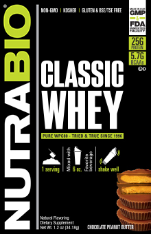 Classic Whey Protein - To-Go Pack (Chocolate Peanut Butter)