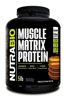 NutraBio Muscle Matrix - 5 Pounds