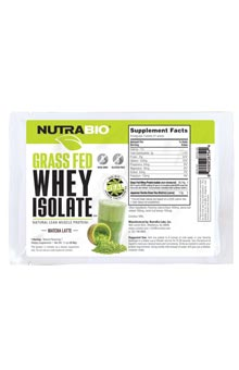 Grass-Fed Whey Protein Isolate - Tog-Go Pack (Matcha Latte)