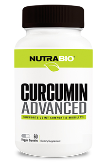 NutraBio Curcumin Advanced - 60 Capsules