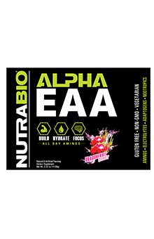 NutraBio Alpha EAA - To-Go Pack (Dragon Fruit Candy)