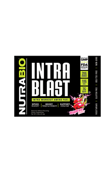 NutraBio Intra Blast - To-Go Pack (Dragon Fruit Candy)