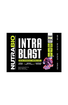 NutraBio Intra Blast - To-Go Pack (Grape Berry Crush)