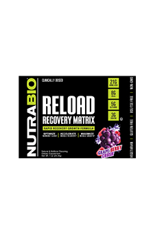 NutraBio RELOAD V5 - To-Go Pack (Grape Berry Crush)