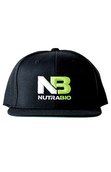 NutraBio Hat - Black