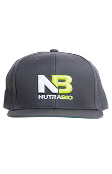 NutraBio Hat - Dark Grey