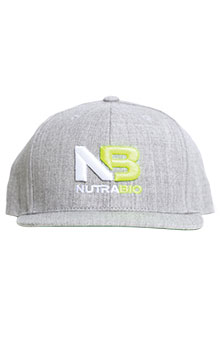 NutraBio Hat - Light Grey