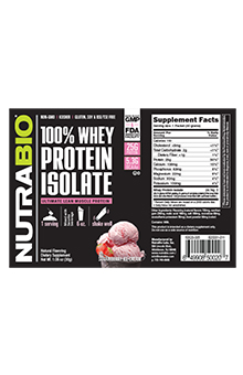 Whey Protein Isolate - To-Go Pack (Strawberry Ice Cream)