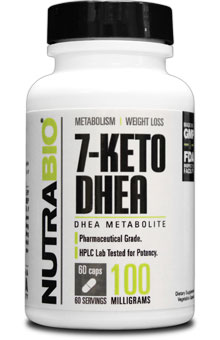 7-KETO DHEA (100mg) - 60 Vegetable Capsules