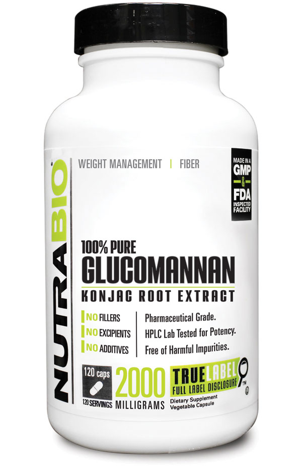 What is glucomannan good for