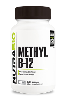 Methyl B-12 (5000mcg) - 120 Vegetable Capsules