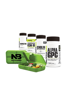 NutraBio Nootropic Stack with Optional Alpha EAA
