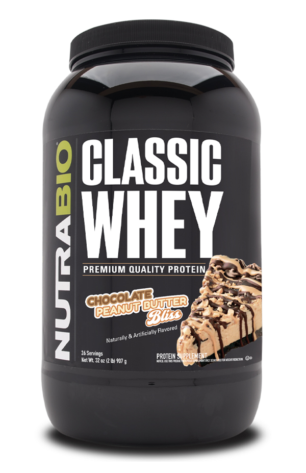 NutraBio Classic Whey Protein - 2 lb