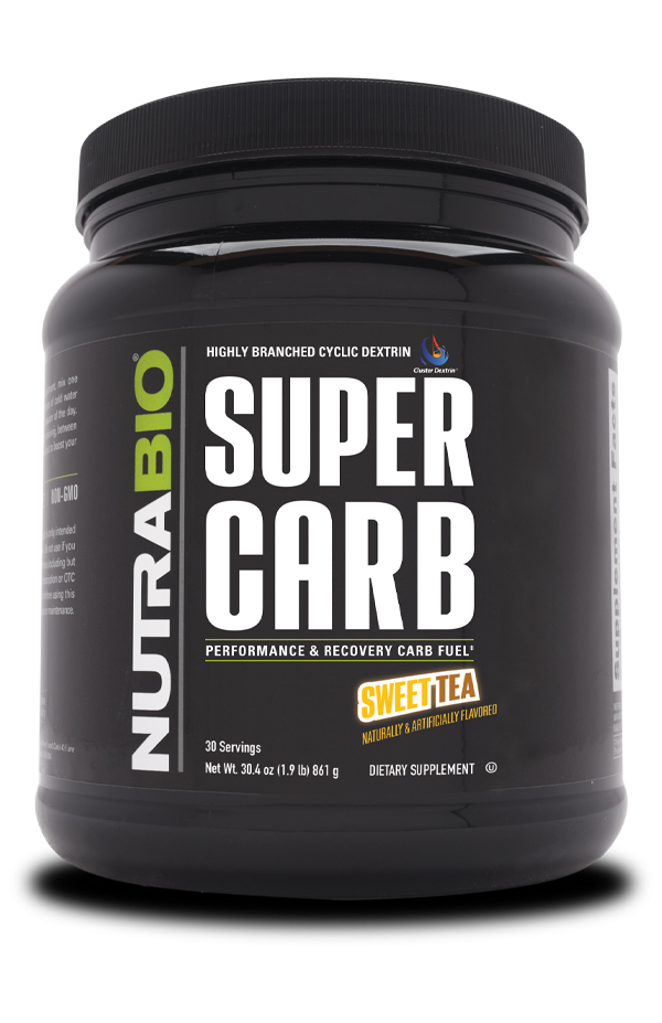 Bottle of Super Carb