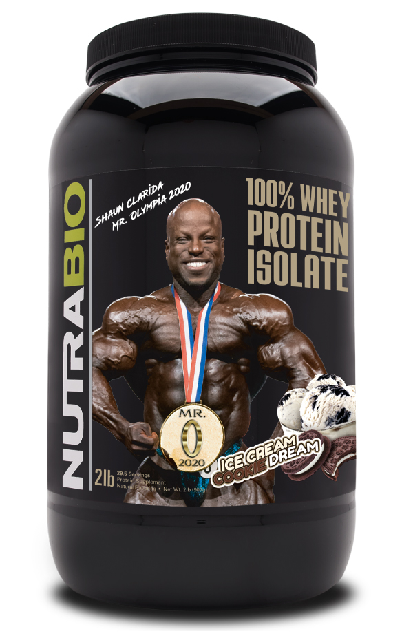 Shaun Clarida Limited Edition Whey Protein Isolate