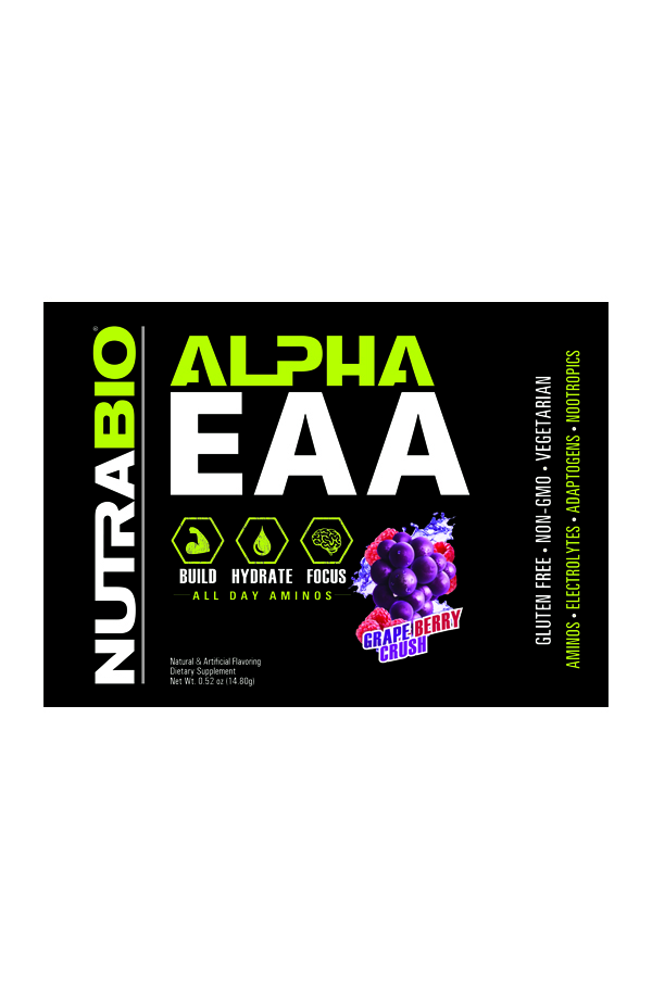 Alpha EAA - To-Go Pack (Grape Berry Crush)