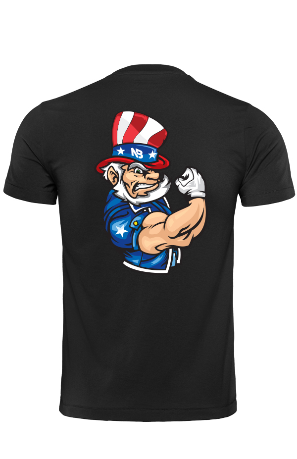 Jacked Uncle Sam T-Shirt (Unisex)
