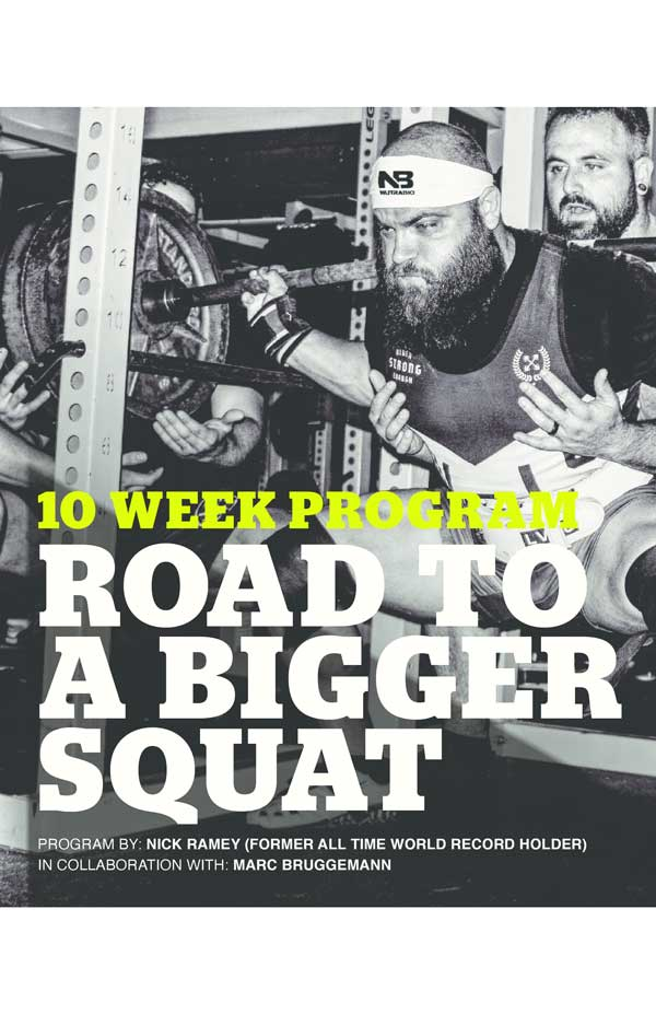 NutraBio 10 Week Program - Road to a Bigger Squat
