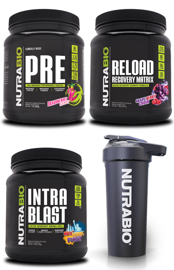 NutraBio Ultimate Training Stack