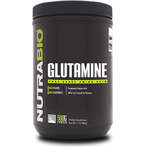 Bottle of Glutamine - 500 Grams