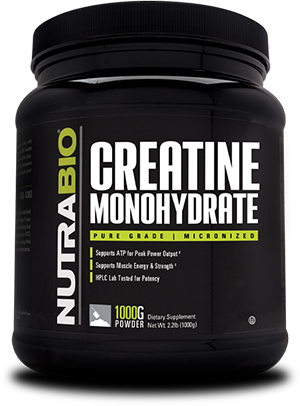 Image of NutraBio Creatine Monohydrate Powder - 1000 Grams