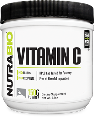 Image of NutraBio Vitamin C Powder - 150 Grams