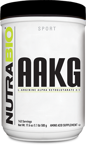 Image of NutraBio Arginine AKG Powder - 500 Grams